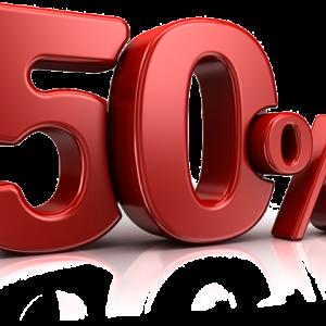 Extra periode 50% ( toeslag )