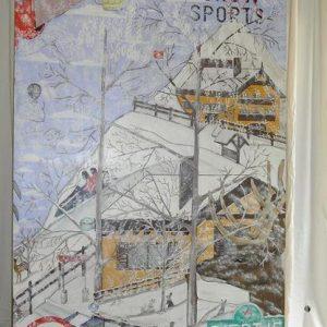 Après-ski Pannelwand 122cm x 244cm
