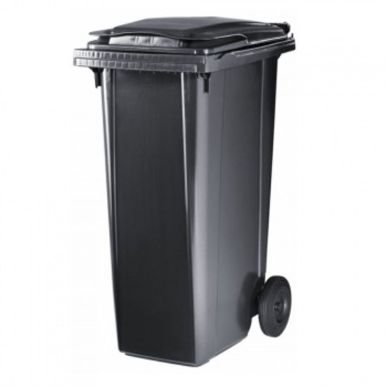 Prullenbak / Container 240 liter Zwart