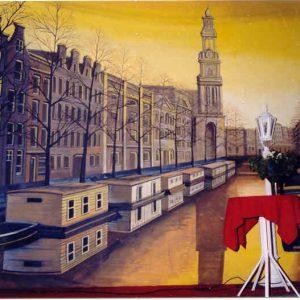 Amsterdams decordoek 8 x 5 meter