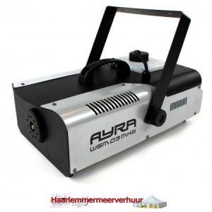 Rookmachine 1500 watt ( incl. vloeistof )