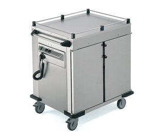 Gastronorm transport-warmhoudwagen