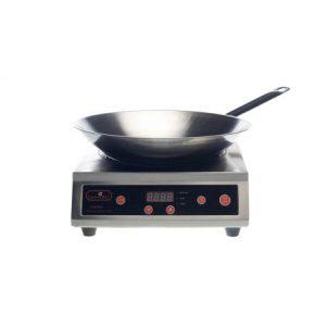 Wok-inductiekoker - met wokpan 38 cm