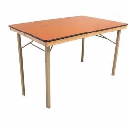 Vouwtafel 1,00/1,50 m hout