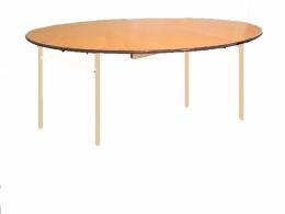 Eettafel Ø rond 1,20 m  ( Geschikt voor 6 personen )