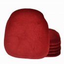 Kussentje Bordeaux - Rood voor bistrostoel