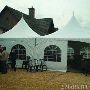 Pagode-tent 5 x 10 meter ( incl. op & afbouw )